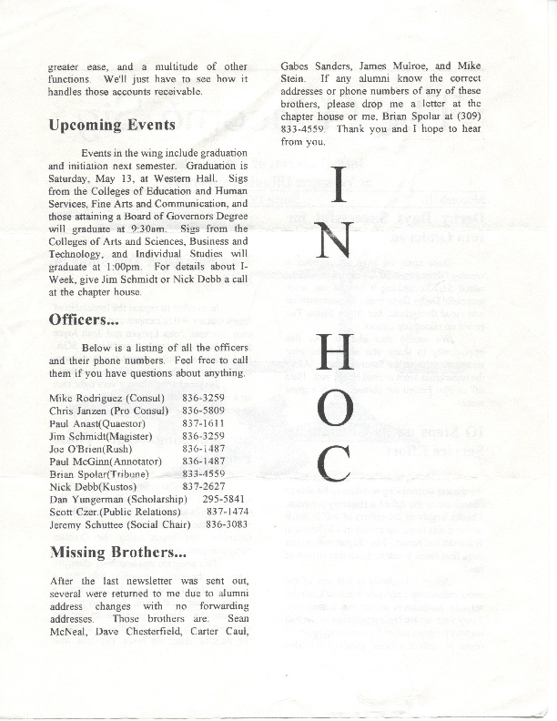 Newsletter Iota Omicron 1995 04 Page 2
