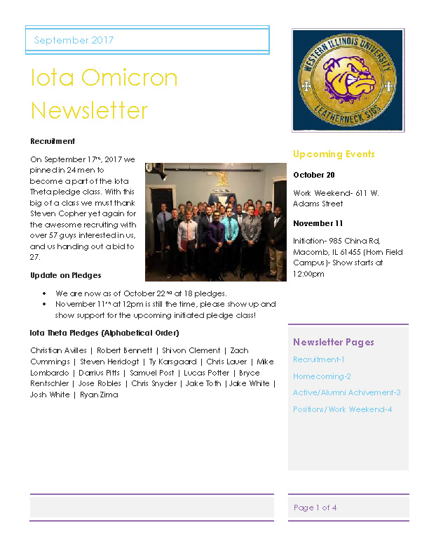 Newsletter Iota Omicron 2017 09 Page 1